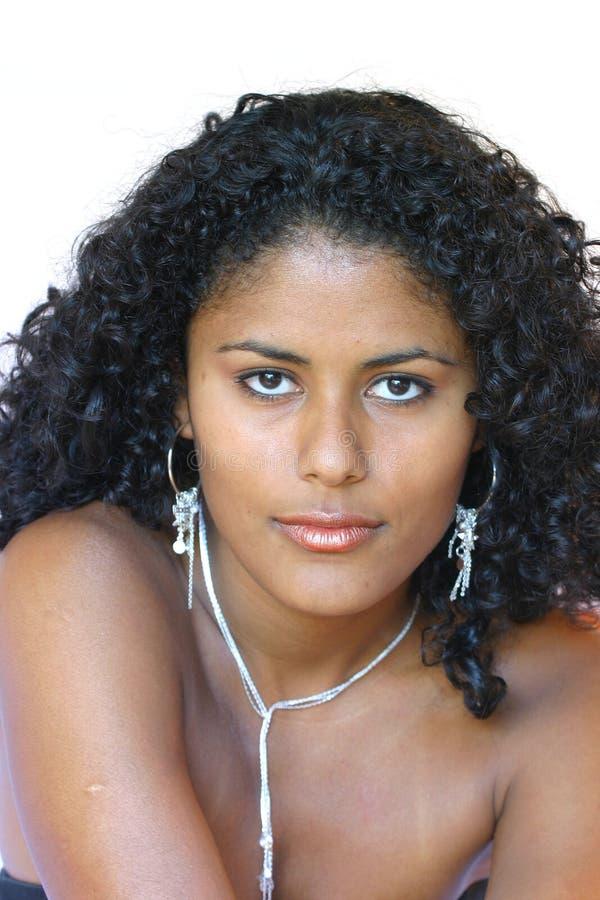 Braziliaanse schoonheid stock afbeeldingen