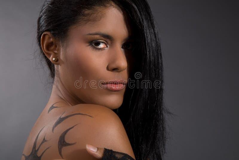 Braziliaanse schoonheid royalty-vrije stock afbeeldingen