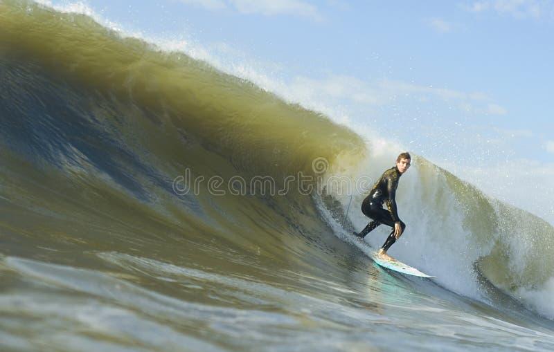 Braziliaanse Surfer stock foto