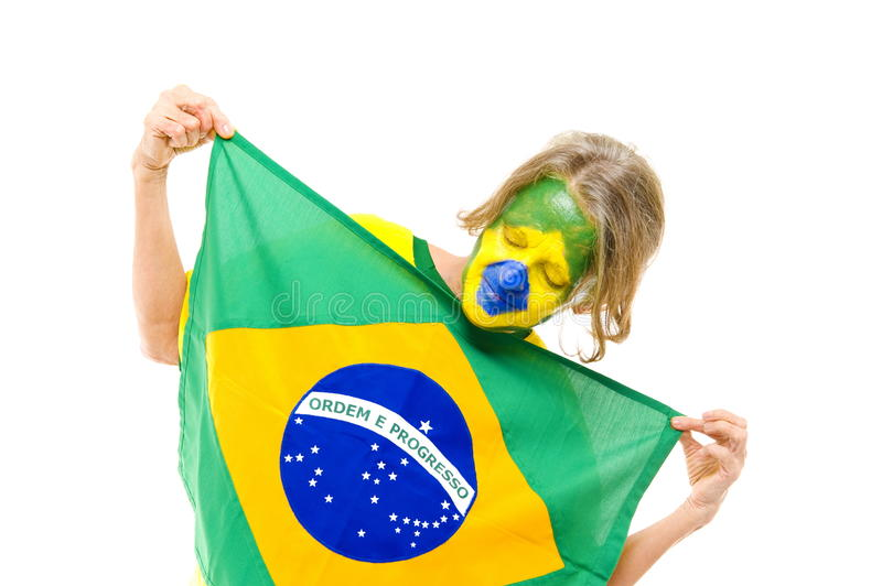 Download Brazilian stock photo. Image of young, white, patriot - 14426386