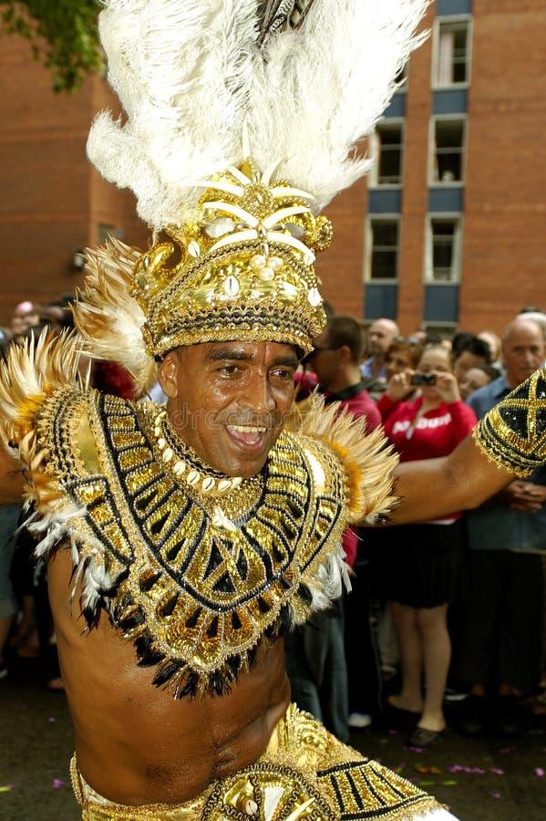 Brazilian carnival 2006 royalty free stock photography