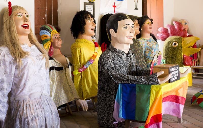Brazilian Carnival Costumes royalty free stock photo