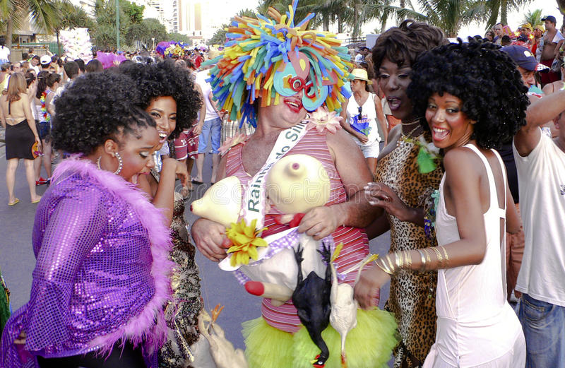 Brazilian Carnival stock photography