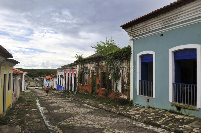 Brazilian Colonial Architecture royalty free stock photos