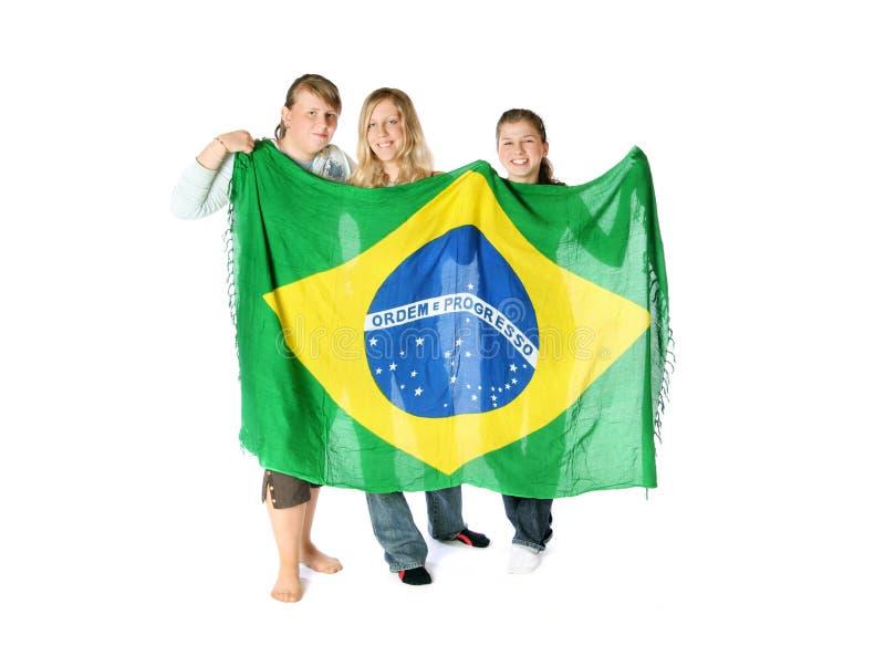 Brazilian Fans stock photos