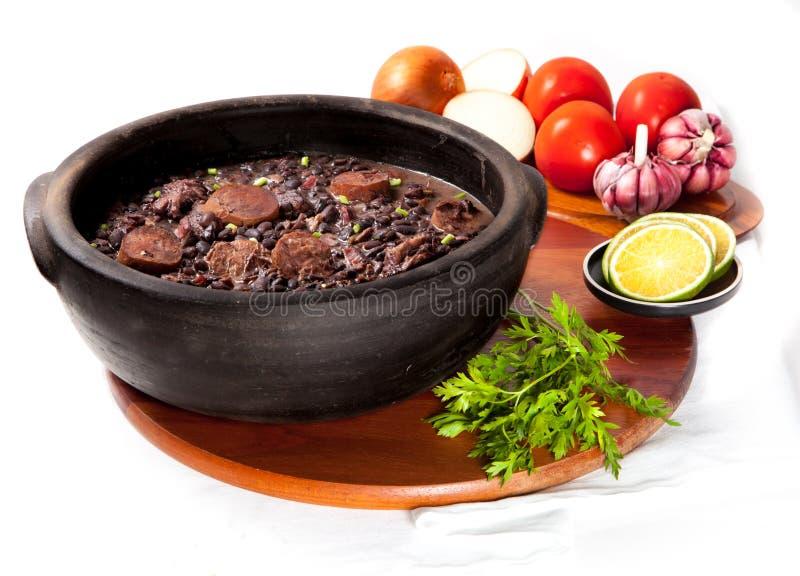 Brazilian Feijoada stock image