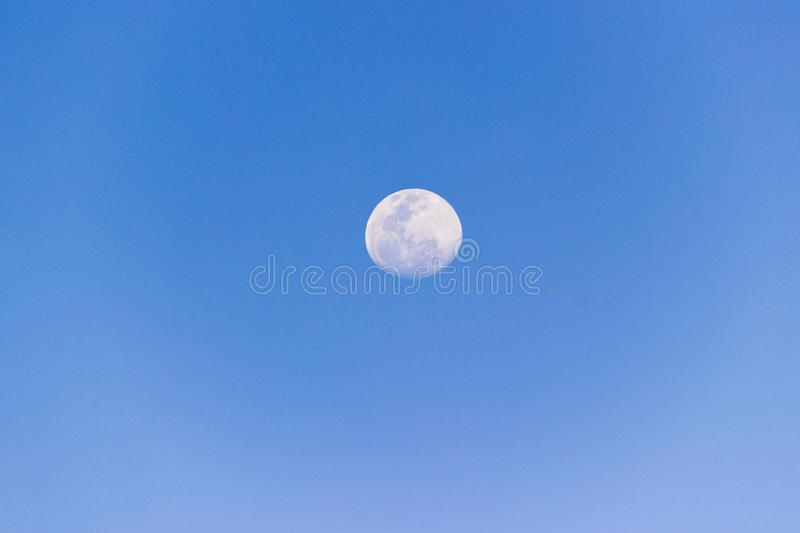 Brazilian full moon. royalty free stock image