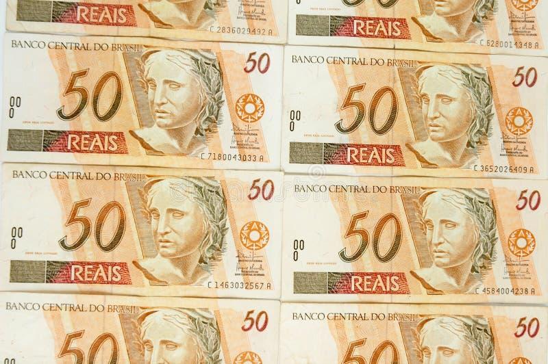 Brazilian Money royalty free stock image
