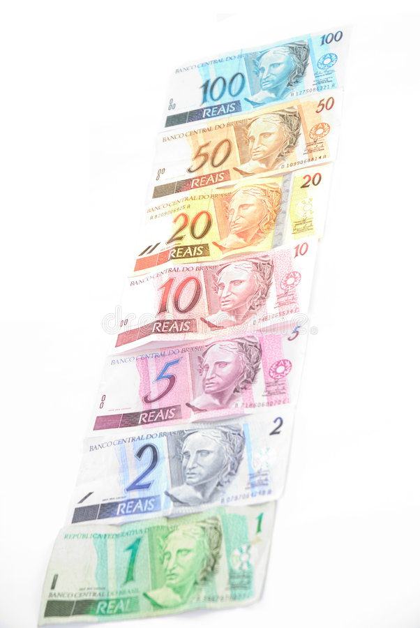 Brazilian Money royalty free stock photo