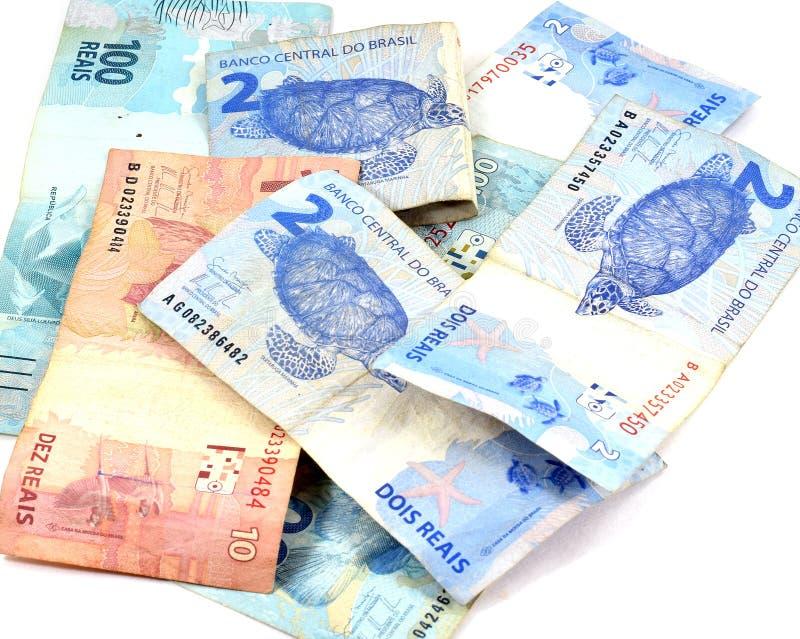 Brazilian money stock photography