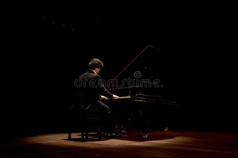 Brazilian pianist Luís Fernando Rabello stock images