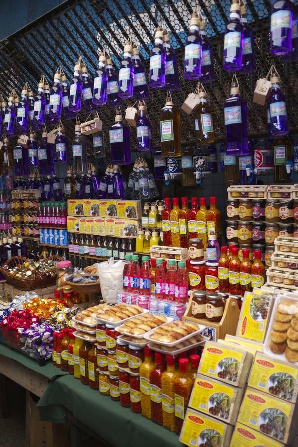 Brazilian Souvenir Stand Nordeste Brazil royalty free stock photo