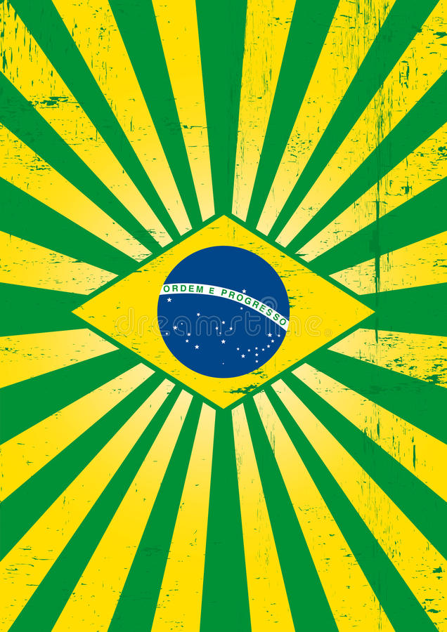 Download Brazilian sunbeams poster. stock image. Image of background - 35942123