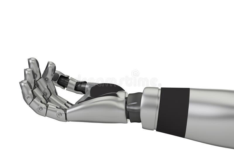 Brazo del robot stock de ilustración