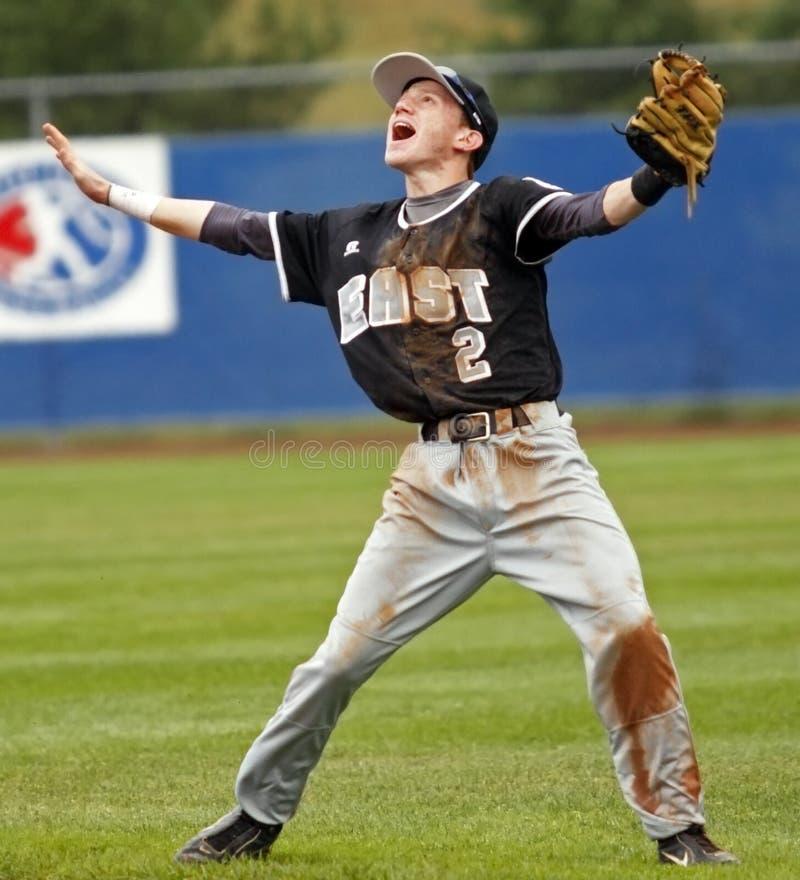 Brazos del este mayores de la serie de mundo del béisbol de la liga imagenes de archivo
