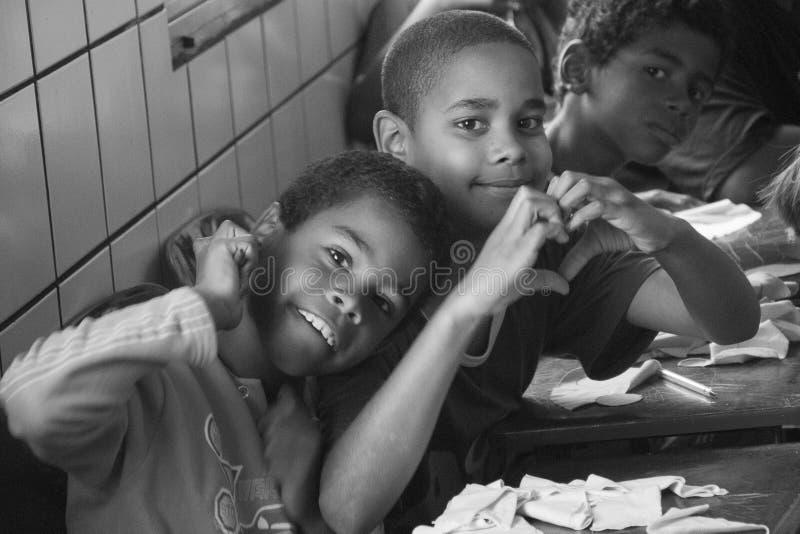 Brazylijscy dzieci fotografia stock