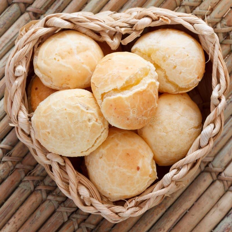 Brazylijska przekąska Pao De Queijo (serowy chleb) zdjęcie royalty free