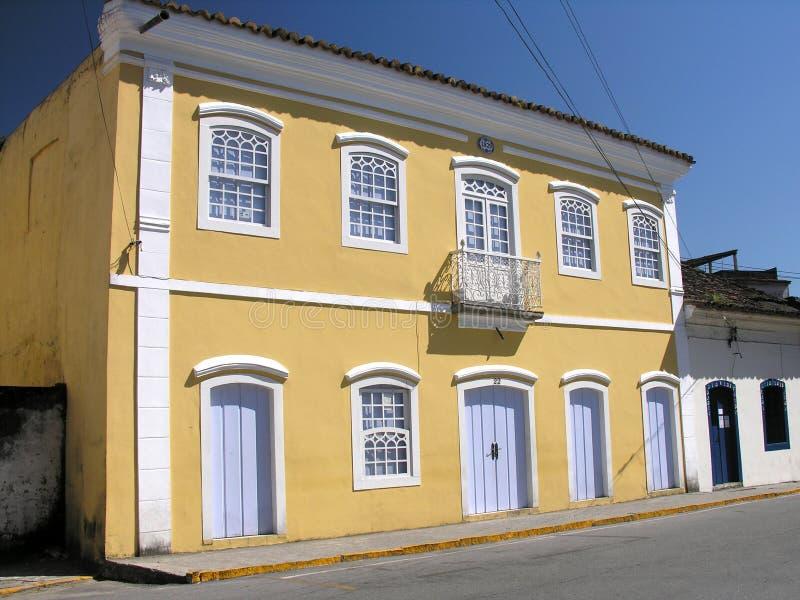 brazylijski dom zewnętrzne obraz stock