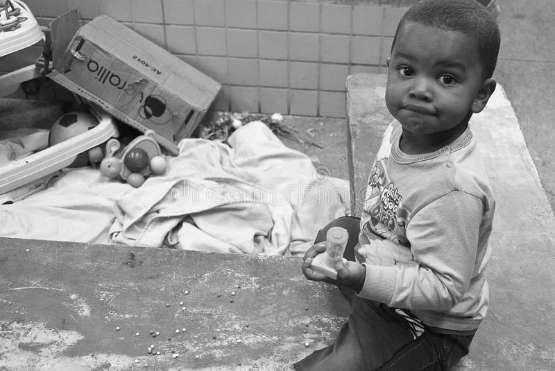 Brazylijski dziecko zdjęcia stock