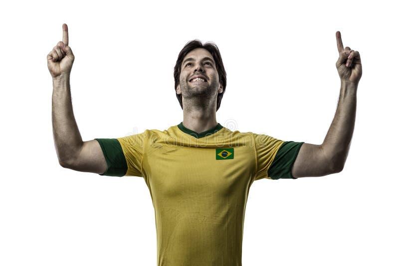 Brazylijski gracz piłki nożnej obrazy stock