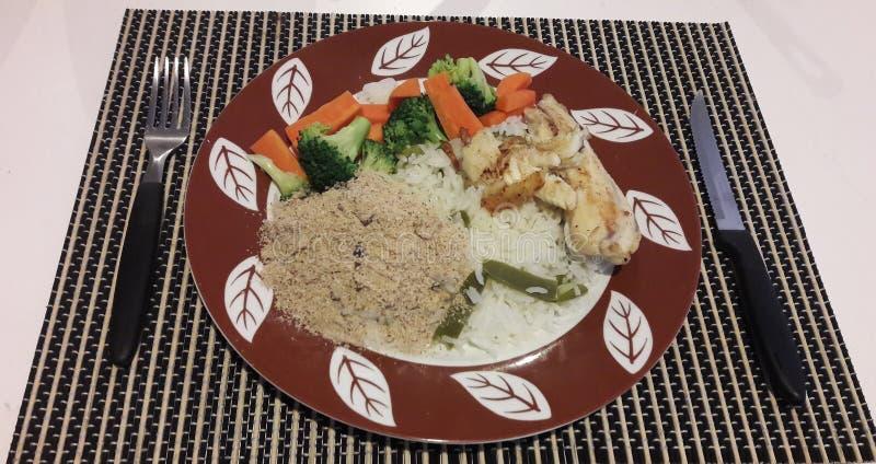brazylijski jedzenie obrazy stock
