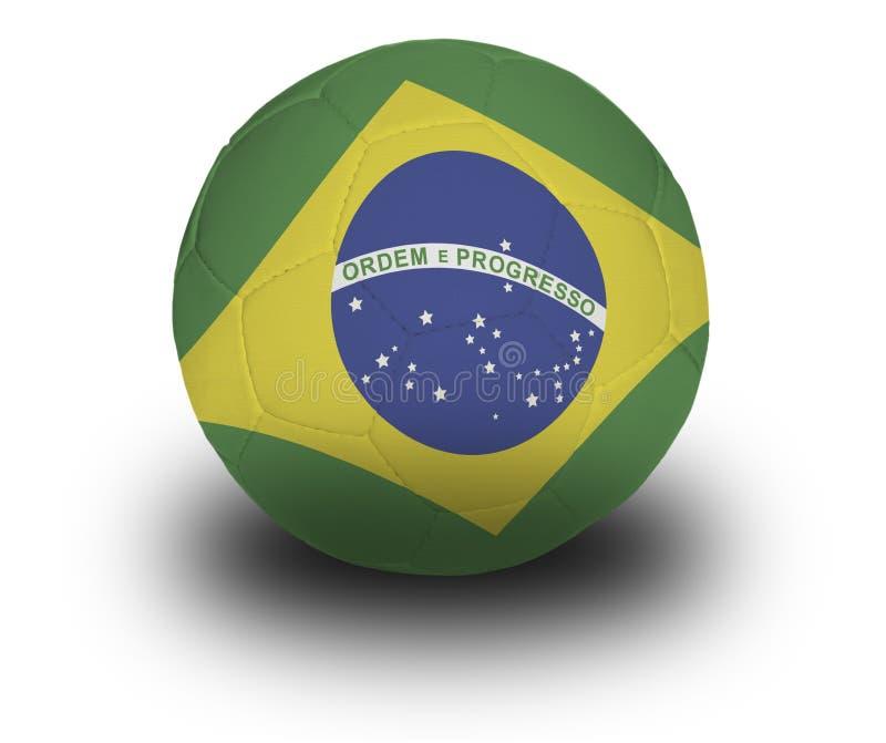 brazylijski piłkę zdjęcia royalty free