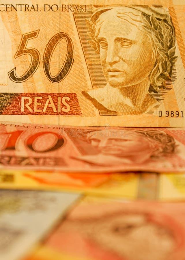 brazylijski pieniądze zdjęcia royalty free