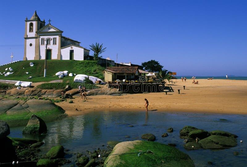 brazylijskie kościół espirito santo zdjęcia royalty free