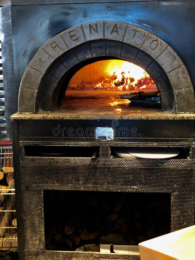 Brck Oven. stock images