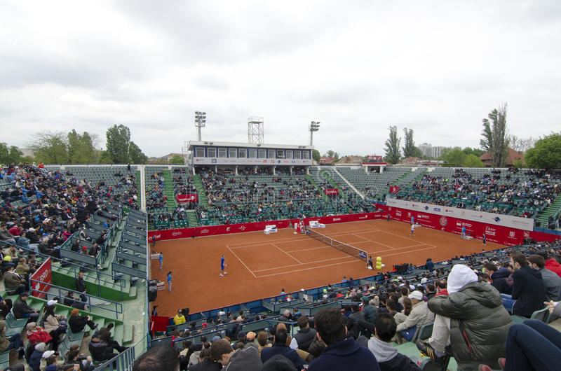 BRD Nastase Tiriac Trophy 2014 royalty free stock photo