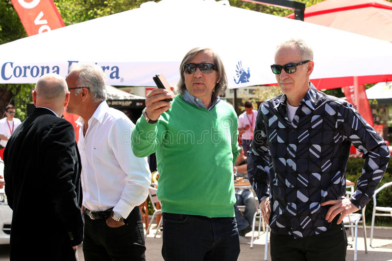 Download BRD Nastase Tiriac Trophy Press Conference Editorial Stock Image - Image: 24520939