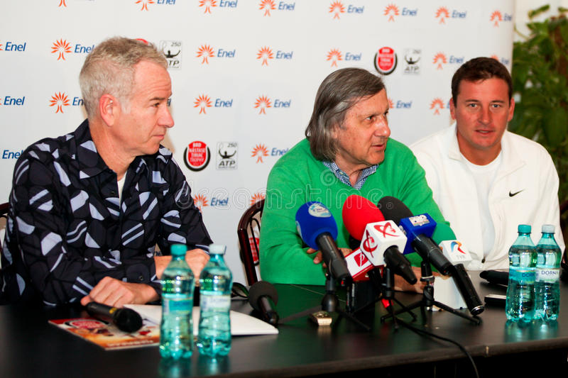 Download BRD Nastase Tiriac Trophy Press Conference Editorial Photo - Image: 24520946
