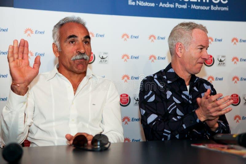 BRD Nastase Tiriac Trophy press conference
