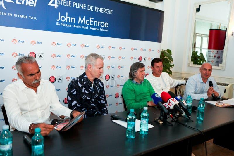 Download BRD Nastase Tiriac Trophy Press Conference Editorial Photography - Image: 24520962