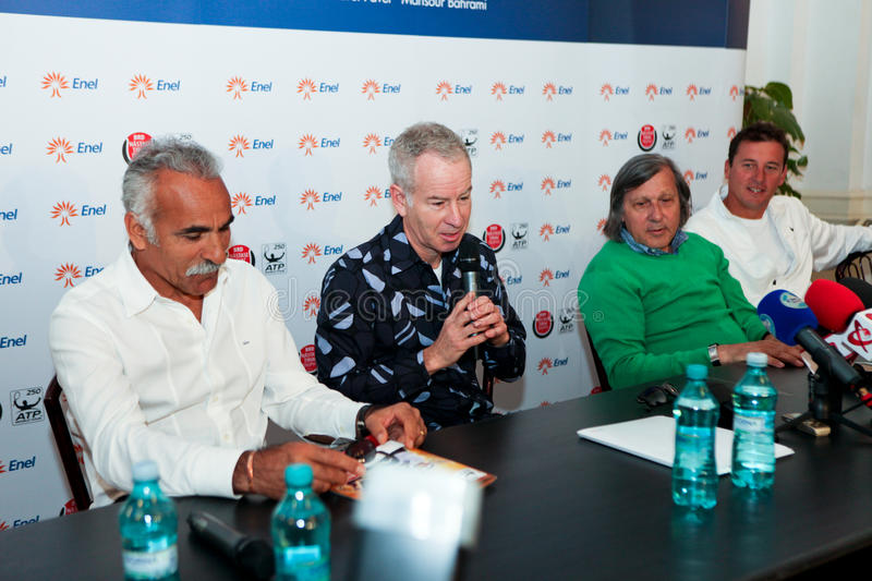 Download BRD Nastase Tiriac Trophy Press Conference Editorial Stock Photo - Image: 24520963