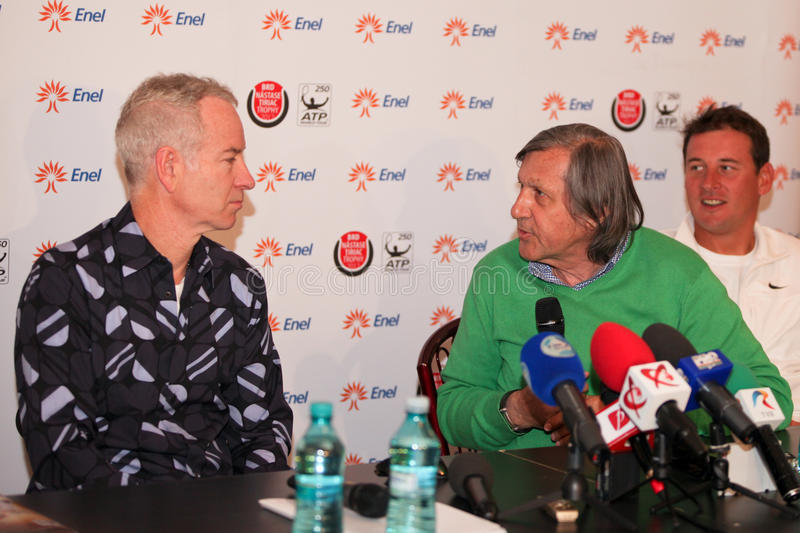 Download BRD Nastase Tiriac Trophy Press Conference Editorial Stock Image - Image: 24521004