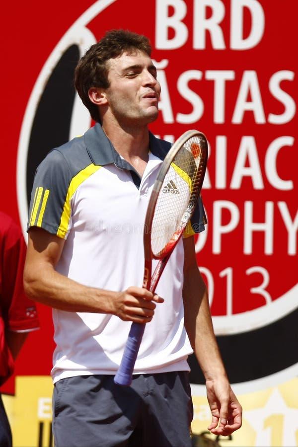 Download BRD Open 2013 Singles Semi-Final:Lukasz Rosol-Gilles Simon Editorial Photography - Image: 30703652
