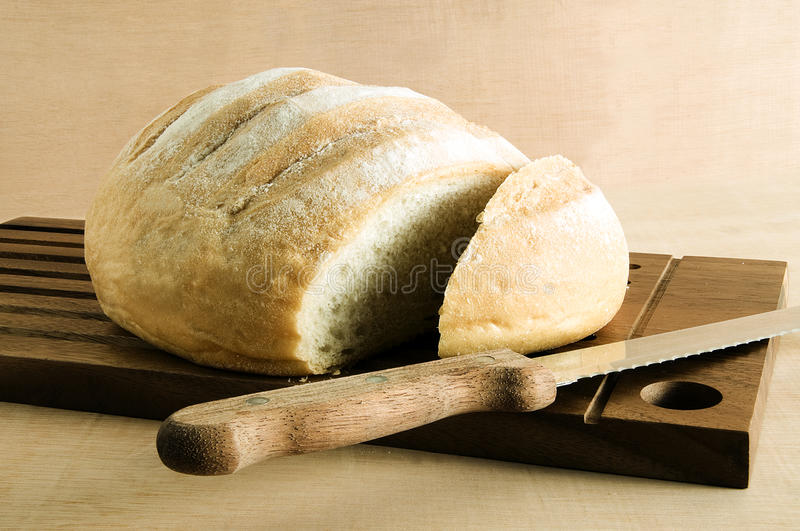 Download Bread stock image. Image of bread, crust, loaf, knife - 10914377