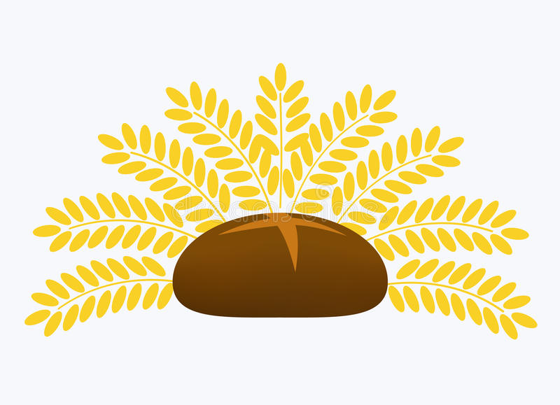 Download Bread stock vector. Image of wheat, yellow, bread, corn - 23917731