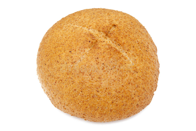 Bread. On the white background stock photo