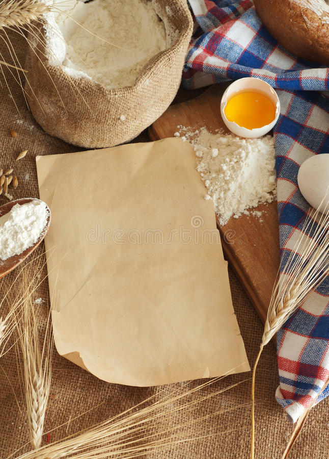 Download Bread stock image. Image of grains, page, cookbook, culture - 26306533