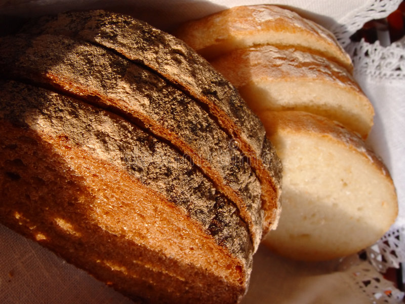 Bread. Details royalty free stock photos