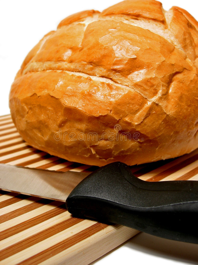 Download Bread stock image. Image of knife, dough, board, yummy - 524689