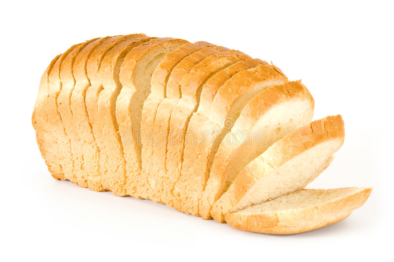Download Bread stock photo. Image of carbohydrate, loaf, white - 6500594