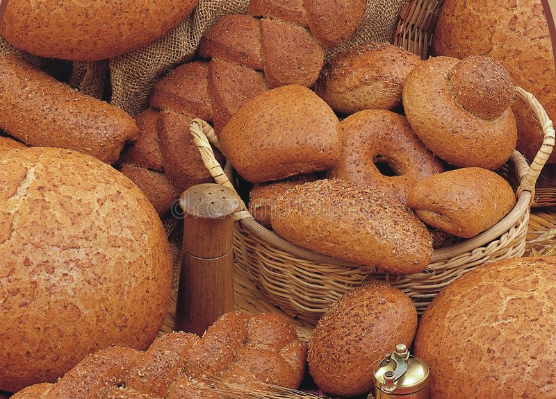 Download Bread stock photo. Image of home, cook, basket, fresh, made - 65484