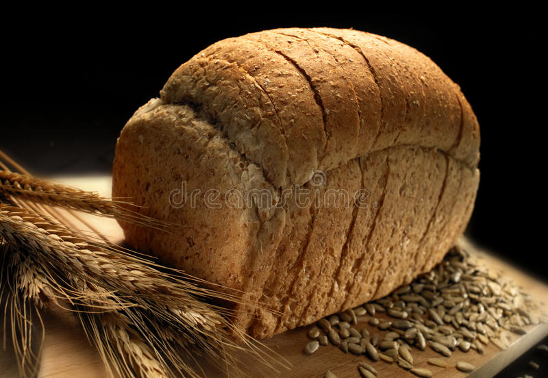 Download Bread stock photo. Image of fiber, meal, seeds, bakery - 9504494