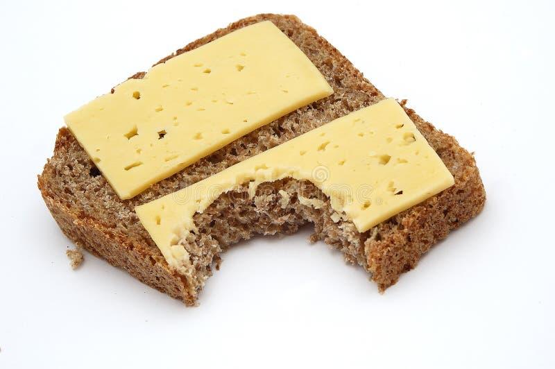 Bread&Cheese imagens de stock royalty free