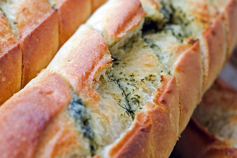 Bread, Baked Goods, Garlic Bread, Food royalty free stock photography