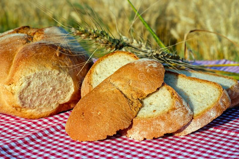 Bread, Baked Goods, Rye Bread, Food stock photography