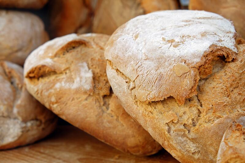 Bread, Baked Goods, Rye Bread, Sourdough royalty free stock photography